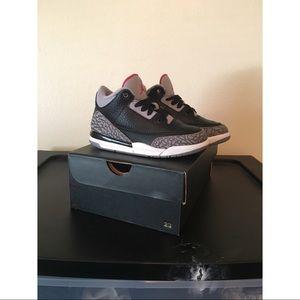 """Jordan 3 Retro """"Black Cement"""""""